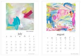 printable art calendar 2015 2016 free printable calendar artist collaboration project