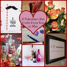 valentines day ideas for boyfriend 37 simple diy s day gift ideas from you to him