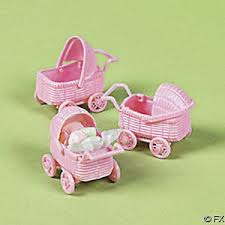 Baby Shower Pastel - new baby shower pastel pink mini baby carriage favors ebay