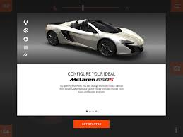 mclaren logo png mclaren u0027s dedicated tablet app lets users configure their dream