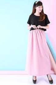 rok muslimah jual koleksi rok muslim wanita terbaru toko baju online pinkemma