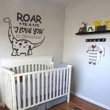 que signifie chambre cool roar signifie je te aime dinosaur wall sticker enfants