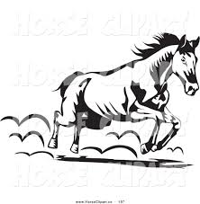 horse clipart moving pictures pencil and in color horse clipart