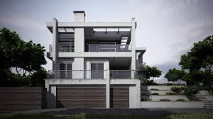 3d architektur visualisierung 3d architekturvisualisierung eines gebäudes bei tageslicht