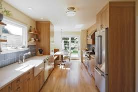 narrow kitchen ultra clever ideas to decorate narrow kitchen