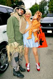 Unique Family Halloween Costume Ideas With Baby by Christina Aguilera With Jordan Bratman And Son Max In The Wizard