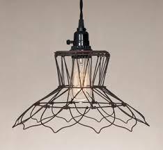 Chicken Wire Chandelier Colonial Tin Vermont Industries Hubbardton Forge Free Shipping