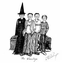 jk rowling harry potter sketches released pottermore