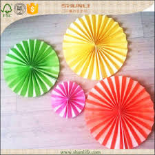 hanging paper fans china rosettes pinwheel backdrop hanging paper fans decoration