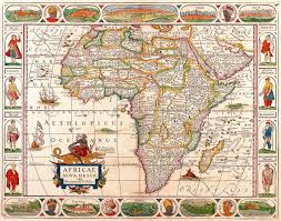 Picture Of Africa Map by Africa Map Wallpapers Wallpaper Cave