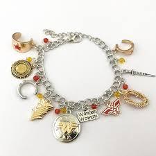 woman charm bracelet images Wonder woman charm bracelet moovie shop jpg
