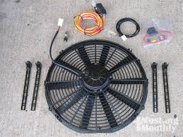 how to install an electric fan in your mustang mustang monthly