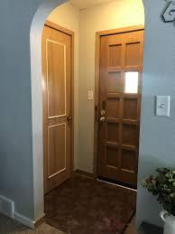 home interior doors painting interior doors black adding new hardware