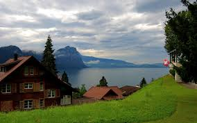 swiss tag wallpapers swiss chalet houses switzerland nature photo