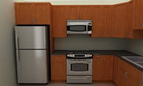 Simple Kitchen Cabinet Simple Kitchen Cabinets Refrigerator I To Design Decorating Within