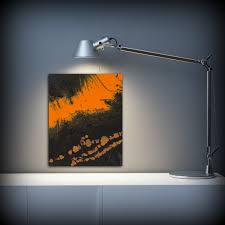 art painting acrylic painting abstract art small wall art brown