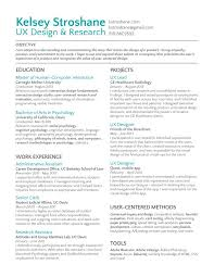 Sample Research Resume by Remarkable Lead Ux Designer Resume Samples With Ux Researcher