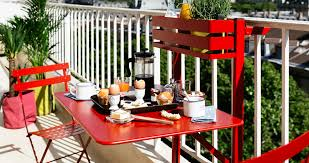 bistro balcony table metal folding table for balcony