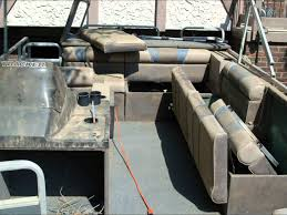 Vinyl Pontoon Boat Flooring pontoon boat transformation cleaning restoration aluminum tube