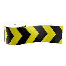 black and yellow ribbon yellow and black craft ribbon zazzle