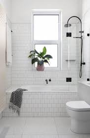 Grey And White Bathroom Tile Ideas Best 25 White Tile Bathrooms Ideas On Pinterest White Bathrooms