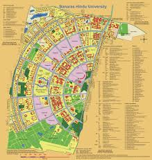 Washington University Campus Map by Banaras Hindu University Varanasi