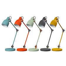 buy wild u0026 wolf task lamp goldfish orange amara