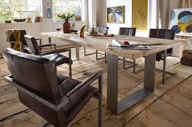 Moderner Esstisch Holz Stahl Esstisch Massiv Unsere Massivholztisch Kollektionen