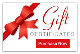 on line gift cards gift certificates