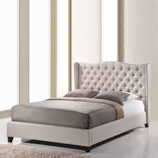 Baxton Studio Bed Baxton Studio Norwich Linen Modern Platform Bed Jcpenney