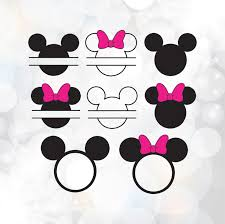minnie mouse monogram mickey monogram svg minnie monogram svg minnie mouse svg mickey