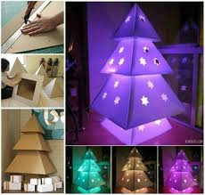 cardboard christmas tree creative ideas diy stunning cardboard christmas tree