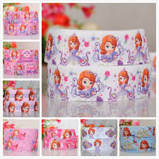 sofia the ribbon 7 8 22mm princess sofia the princess gift grossgrain