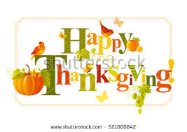 happy thanksgiving day vector free vector stock