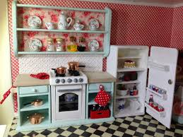 Dollhouse Kitchen Furniture Once Upon A Doll Collection Shabby Chic Kitchen Dollhouse Part 5