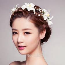 floral headpiece aliexpress buy 2017 summer wedding flower crown
