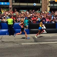 atlanta track club elite fly through boston with fast finishes