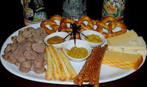 oktoberfest menus and recipes oktoberfest menu pretzel encrusted chicken schnitzel chatty