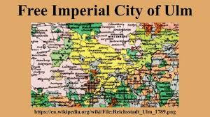 Ulm Germany Map free imperial city of ulm youtube