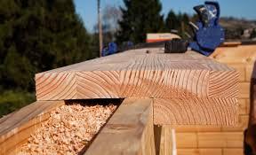 Comment Fabriquer Une Maison En Bois Maison Passive Brikawood La Brique En Bois Qui Se Monte Sans