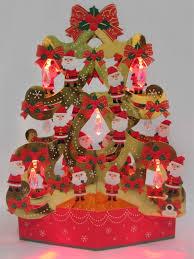 santa claus christmas tree lights u0026 16 different christmas