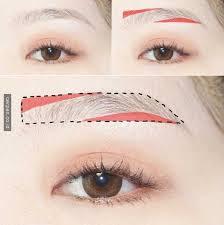 tutorial alis mata untuk wajah bulat kebingungan mendandani alis ala korea kedua cara ini mu