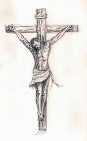 drawings of jesus on the cross pictures and drawings