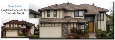 Flat Tile Roof Concrete Tile U0026 Clay Tile Roof R E Roofing U0026 Construction