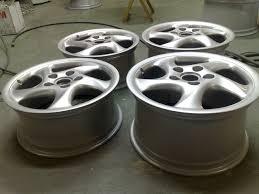 porsche silver powder coat porsche cracked alloy wheel repair u0026 full refurbishment