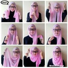 tutorial hijab pashmina kaos yang simple tutorial hijab pashmina shifon hijab pinterest tutorials