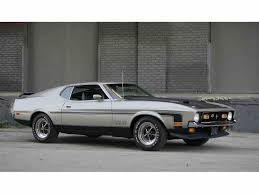Classic Black Mustang 1971 Ford Mustang Boss For Sale Classiccars Com Cc 988994