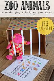 zoo animals dramatic play activity dramatic play zoos and