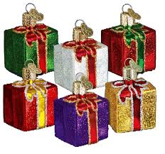 world ornaments gift box 36034