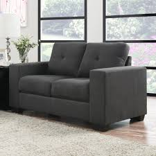 Modern Gray Leather Sofa by Furniture Interesting Great Grey Loveseat With Fascinating Aura